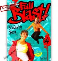 Підручник Англійська мова 8 клас Поглиблений Full Blast 4 Student's Book Авт: Mitchell H.Q. Вид-во: MM Publications