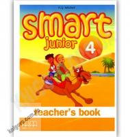 Англійська мова 3 клас Поглиблений Smart Junior 4 Teacher's Book Авт: Mitchell H.Q. Вид-во: MM Publications