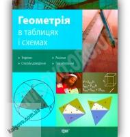 Геометрія в таблицях і схемах Авт: Роганін О. Вид-во: Торсінг