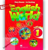 Підручник Англійська мова 1 клас Поглиблений English World 1 Pupil's Book Авт: Mary Bowen, Liz Hocking Вид-во: Macmillan