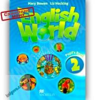 Комплект Англійська мова 2 клас Поглиблений English World 2 Pupil's Book & Workbook Авт: Mary Bowen, Liz Hocking Вид-во: Macmillan