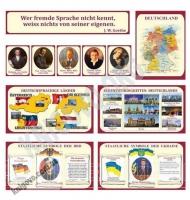 Кабінет німецької мови Комплект стендів Артікул: 12053 Виробник: Інтердизайн