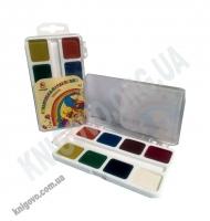 Фарба акварельна медова 8 кольорів Акварелька-Карамелька Вид: Тетрада