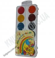 Фарба акварельна медова 12 кольорів Акварелька-Карамелька Вид: Тетрада
