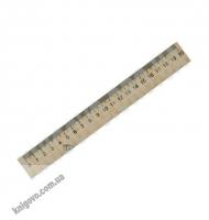 Лінійка дерев'яна 200 мм Вид: Ранок