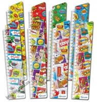 Закладки для книг картонные набор 8 штук Поп-арт BM-4681 Изд: Бумагия