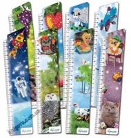 Закладки для книг картонные набор 8 штук Поделки из квиллинга BM-4612 Изд: Бумагия