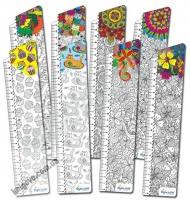 Закладки для книг картонные набор 8 штук Раскраска-антистресс BM-4698 Изд: Бумагия