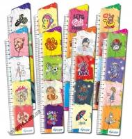 Закладки для книг картонные набор 8 штук Модные футболки BM-4704 Изд: Бумагия