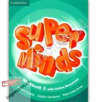 Робочий зошит Англійська мова Super Minds 3 Workbook Авт: Herbert Puchta Вид: Cambridge