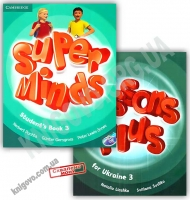 Super Minds 3 Student's Book with DVD-ROM Авт: Herbert Puchta Вид: Cambridge