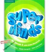 Робочий зошит Англійська мова Super Minds 2 Workbook Авт: Herbert Puchta Вид: Cambridge