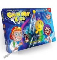 Набор для проведения 3 опытов Дрессированный осьминог Фараоновы змеи Самонадувающийся шарик Код CHK0201 Изд: Danko Toys