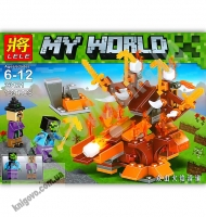 Конструктор My World 133 детали