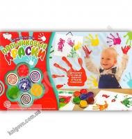 Пальчиковые краски 4 цвета Код PK0201 Изд: Danko Toys