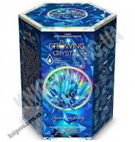 Набор для проведения опытов Growing Crystal Растущий кристалл Голубой Код GRK0105 Изд: Danko Toys