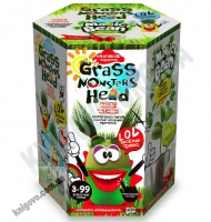 Веселая травка Grass Monsters Head Креативное творчество Код GMH0106 Изд: Danko Toys