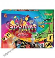 Настольная игра викторина Эрудит Код: DTG26 Изд: Danko Toys