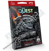 Карточная квест игра Best Quest Dinosaurs Код BQ 0104 Изд: Danko Toys