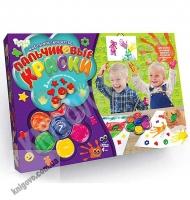 Пальчиковые краски 7 цветов Код PK0101 Изд: Danko Toys