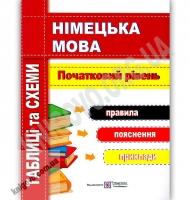 Німецька мова Таблиці та схеми Початковий рівень Авт: Грицюк І. Вид: Підручники і посібники