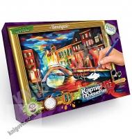 Картина по номерам Венеция Код: KN-01-09 Изд: Danko Toys