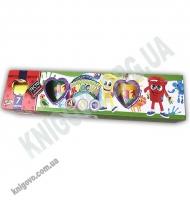 Пальчиковые краски 4 цвета + тесто 7 цветов Neon РК-03-01 Изд: Danko Toys