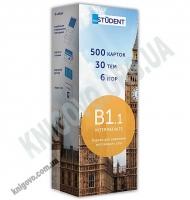 Картки для вивчення англійських слів 500 карток Intermediate B1.1 Українсько-англійські Вид: English Student