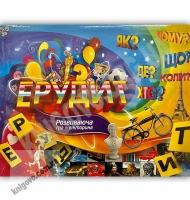 Настільна розвиваюча гра-вікторина Ерудит Код: DTG 25 Вид: Danko Toys