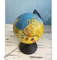 Глобус Україна Адміністративно-фізичний
