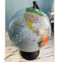 Глобус Земля політичний Масштаб 1:50 000 000