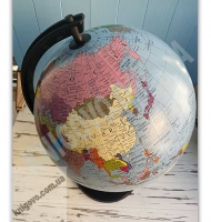 Глобус Земля політичний Масштаб 1:40 000 000