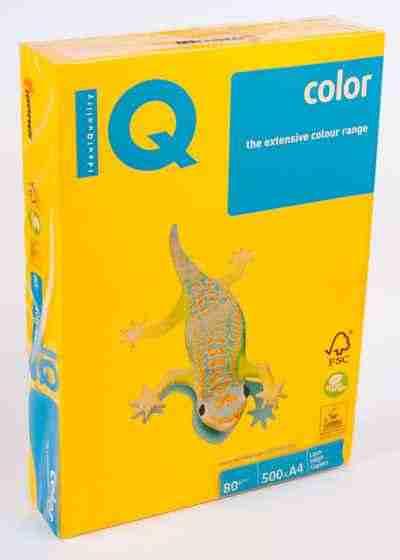 Папір кольоровий А4, 500 аркушів 80 г/м2 Spectra/Mondi IQ Золотий інтенсив №200/40