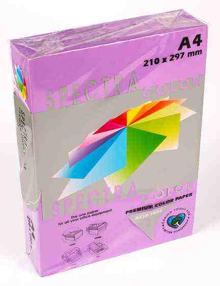 Папір кольоровий А4, 500 аркушів 80 г/м2 Spectra Фіолетовий інтенсив №274