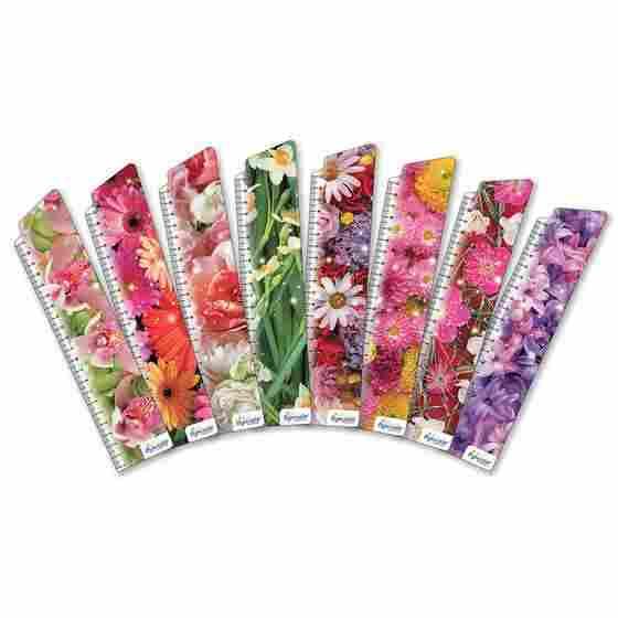 Закладки для книг картонные набор 8 штук BM-1130 Цветы Бумагия
