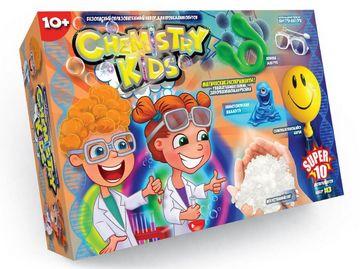 Науковий хімічний набір Chemistry Kids Super 10 №3. Вид-во: Danko Toys