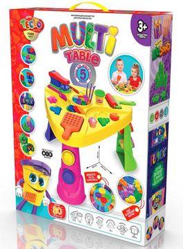 МЕГАНАБІР Multi Table 5. Стіл для дитячої творчості. Вид-во: Danko Toys