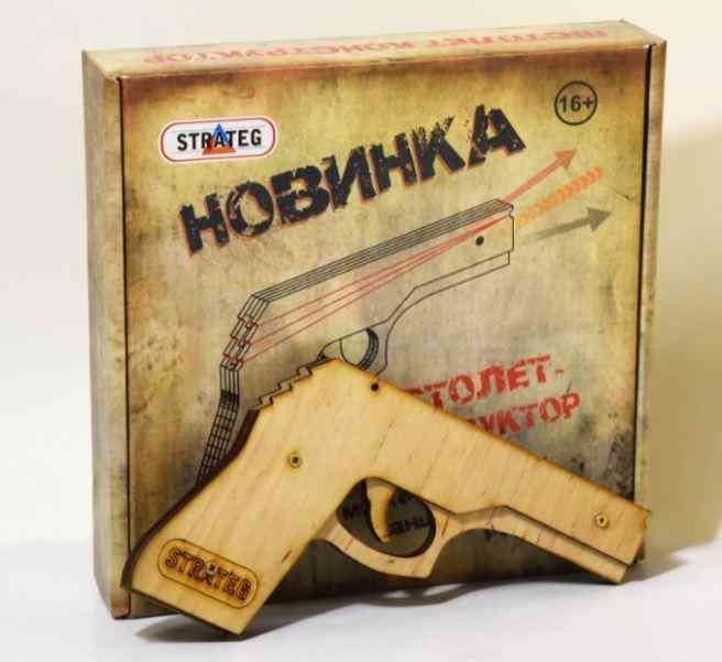 Пистолет-конструктор 401 Модель S1 в коробке 16+ Danko Toys