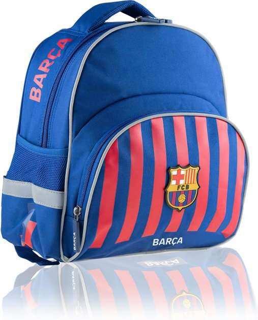 Ранець FC Barcelona 502020003 синiй 26x30x15, 3 вiд, полiестер FC-263 FC Barcelona Barca Fan 8, ортоп. сп.,свiтловiдб. ел